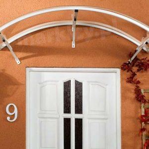 Daszki nad drzwi luciana zabezpieczenie drzwi wejściowych
