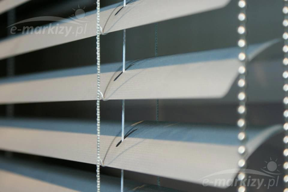 Żaluzja pozioma aluminiowa na wymiar, żaluzje wewnętrzne aluminiowe lamele