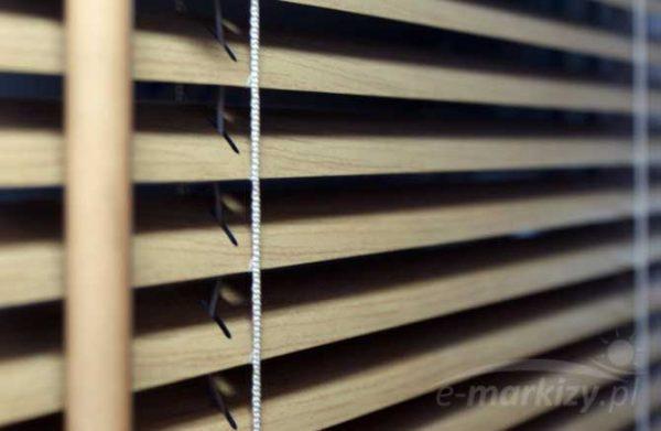 Żaluzje poziome aluminium, lamele aluminiowe 25mm, żaluzja pozioma na wymiar