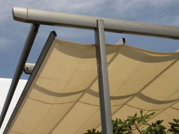Pergola supro wystające profile, pergola wystające narożniki, pergola balkonowa