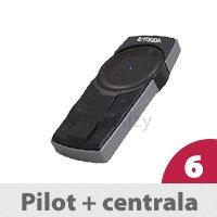 Pilot SVERO Black + Centrala Mikro