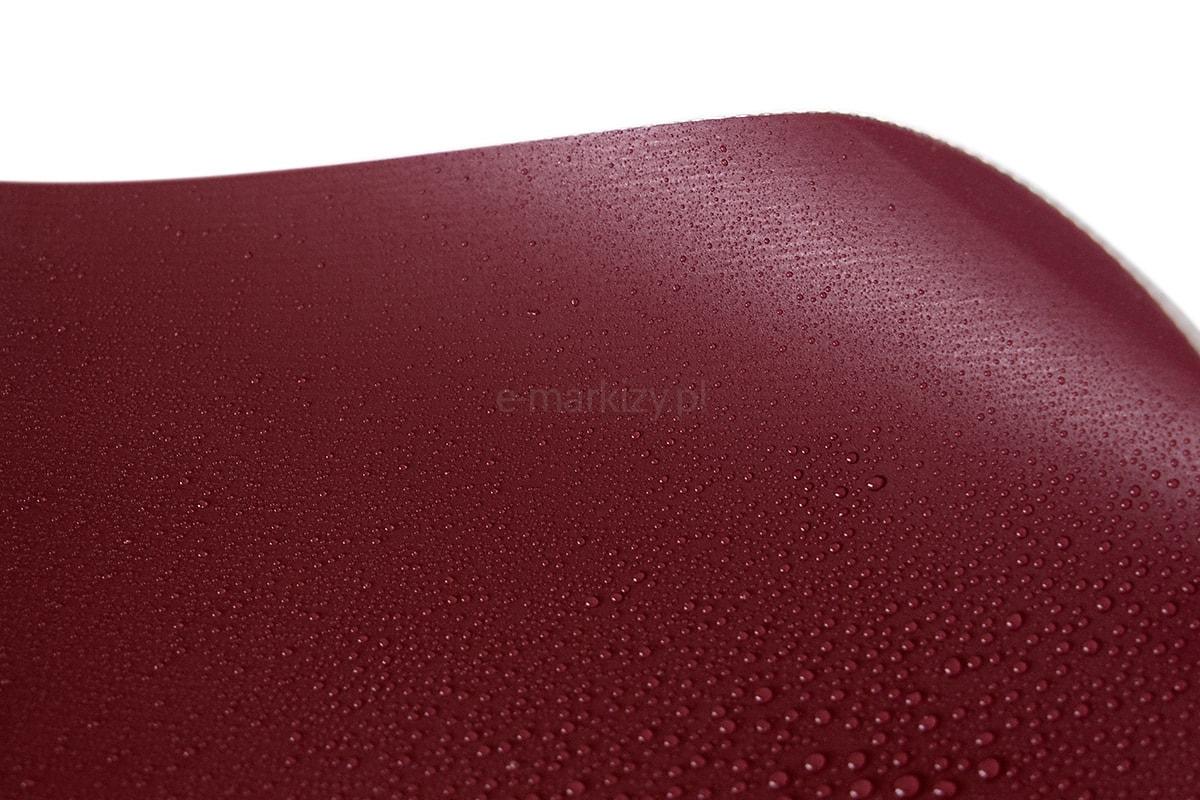 bordowy tkaniny driplux, veranda tkanina wodoodporna