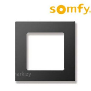 somfy ramka smoove black 9015023
