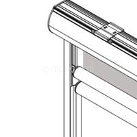 2. Prowadnice aluminiowe do wnęki