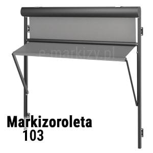 Markizoroleta 103 na wymiar, wycena markizorolety, rolety okienne cała Polska
