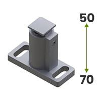 Uchwyt prowadnicy regulowany 50-70mm