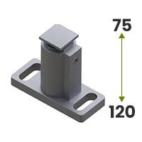 Uchwyt prowadnicy regulowany 75-120mm