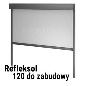 Refleksol 120 do zabudowy, refleksol 120 podtynkowy, refleksol pod tynk