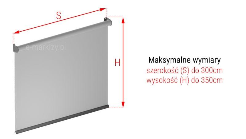 Refleksol XL MA Selt wymiarowanie, pomiar refleksola, refleksole wymiary