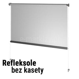 Refleksole bezkasetowe na wymiar, wycena refleksola, sklep internetowy e-Markizy