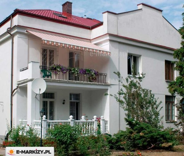 Markiza jamajka selt realizacja, markiza balkonowa, markizy balkonowe