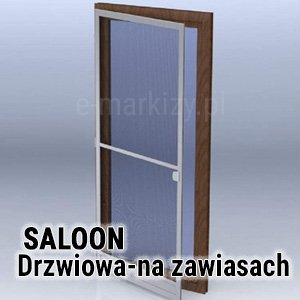 Moskitiera Saloon Mol, moskitiery drzwiowe, moskitiera na zawiasach