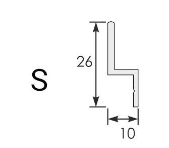 Moskitiera Slider typy prowadnic