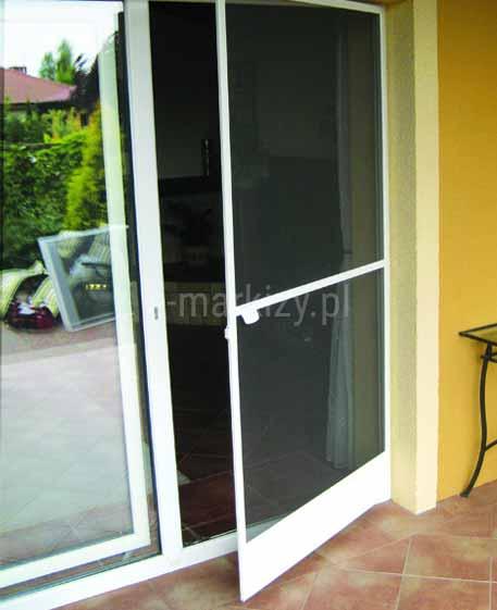 Moskitiera drzwiowa soft, mosktiery na zawiasach, moskitiera ze wzmocnieniem