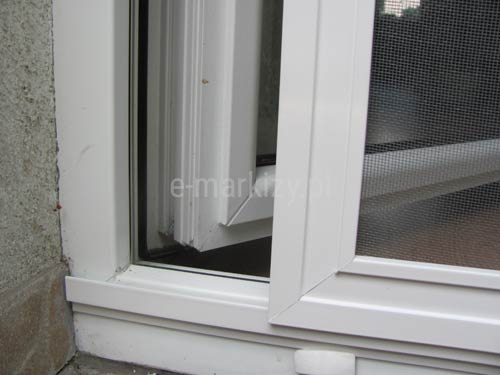 Moskitiera drzwiowa z prowadnicą, moskitiera slim mol