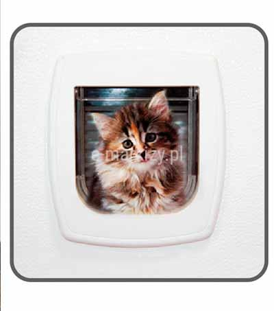 Moskitiera soft przejście dla zwierząt, moskitiera z dziurą dla kotów