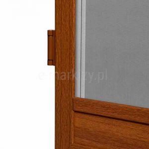 Moskitiera złoty dąb saloon, moskitiery imitacja drewna