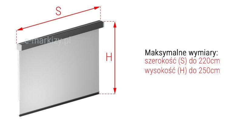 Refleksol 85-Sa wymiarowanie, pomiar refleksola, refleksole wymiary