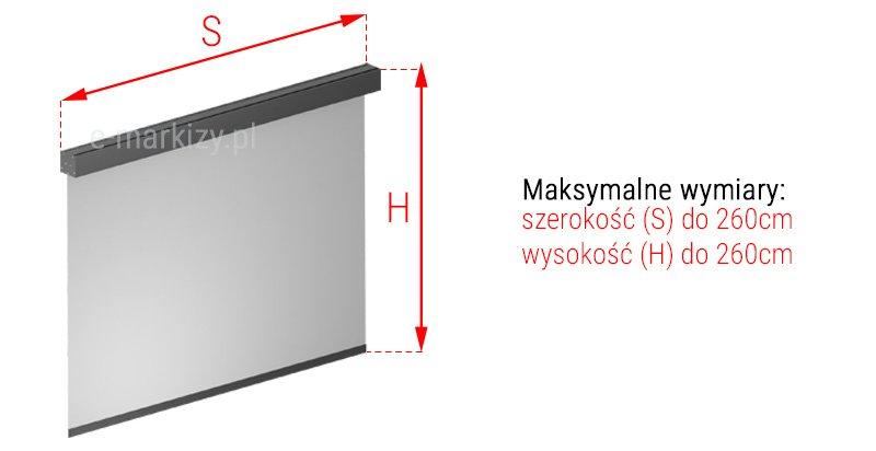 Refleksol 85a wymiarowanie, pomiar refleksola, refleksole wymiary