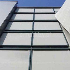 Refleksol zip 95 fasadowy, małe wymiary refleksola nafasadowego