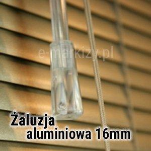 Żaluzja aluminiowa 16mm wycena, Żaluzje poziome 16mm na wymiar