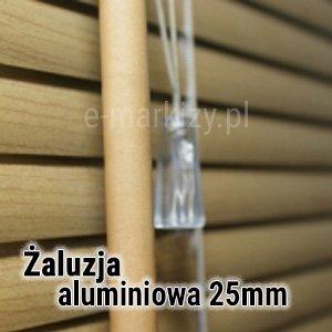 Żaluzja aluminiowa 25mm wycena, Żaluzje poziome 25mm na wymiar