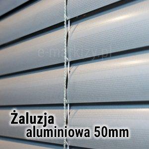 Żaluzja aluminiowa 50mm wycena, Żaluzje poziome 50mm na wymiar