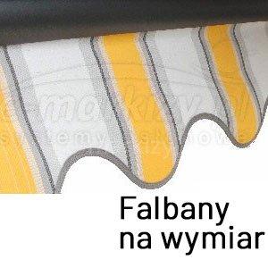 Falbany markizowe na wymiar, markiza falbankowa, falbana do markizy, falbanka markizowa, falbanka na przód markizy tarasowej