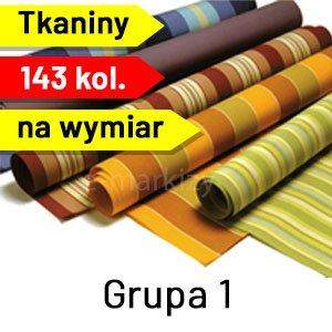 Tkaniny na wymiar grupa 1, tkaniny markizowe, poszycia markizowe, poszycie markizowe na wymiar, tkanina markizowa