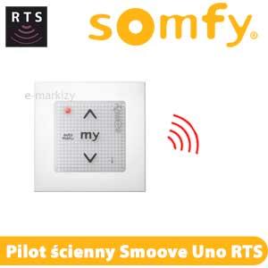 somfy smoove uno ib pure 811203 z ramką, pilot ścienny somfy RTS