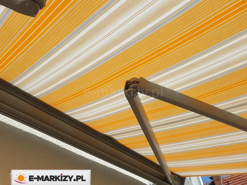 Ramiona markizy dakar selt, wysięgniki markizy tarasowej, ramiona z łańcuchem