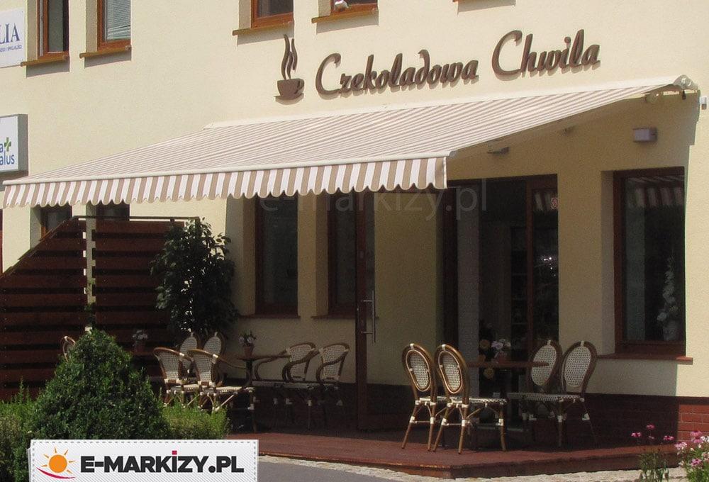 Markiza restauracyjna adagio, markiza do restauracji, markiza do baru, markizy barowe, markizy restauracyjne, gastronomia markizy