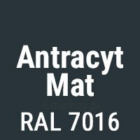 Antracyt Mat (RAL 7016)