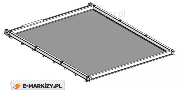 Zadaszenie pergoli square wycena, dach do pergoli, dach pergolowy,, zadaszenie elektryczne
