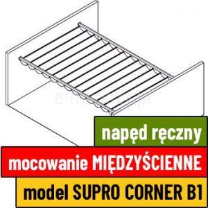 Dach supro corner b1 wycena pergoli, dach międzyścienny