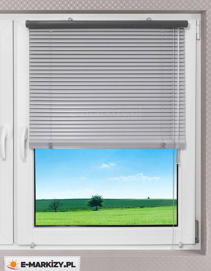 Żaluzja aluminiowa wewnętrzna, żaluzje poziome do biura, żaluzje poziome do domu
