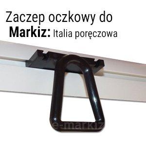 Markiza balkonowa Italia zaczep oczkowy