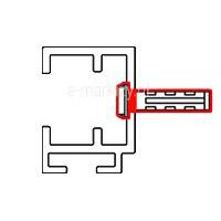 Mocowanie prowadnic GC30F do wnęki
