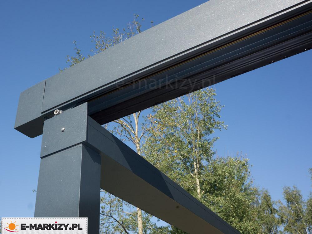 Pergola z profilami aluminiowymi luxo, pergola profile aluminiowe