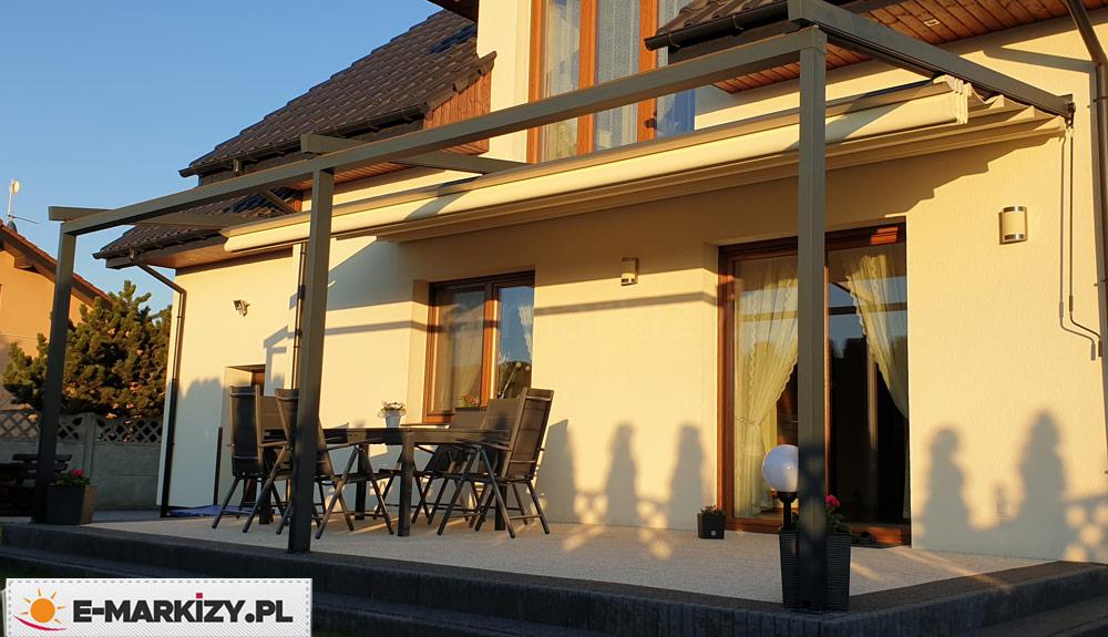 Pergola rozsuwany dach luxo, pergole aluminiowe na wymiar