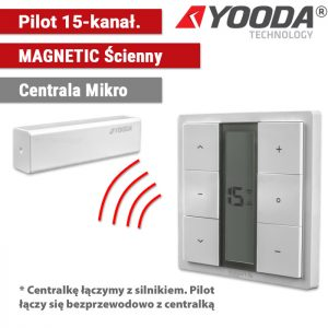 Automatyka do refleksoli, yooda pilot magnetic ścienny, sukcesgroup 1711673