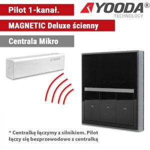 Automatyka do refleksoli, yooda pilot magnetic deluxe ścienny, sukcesgroup 1711701 1711701b