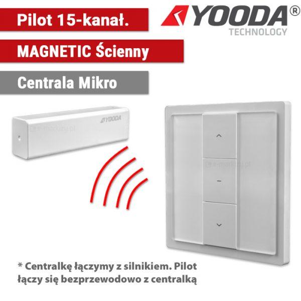 Automatyka do refleksoli, yooda pilot magnetic ścienny, sukcesgroup 1711600