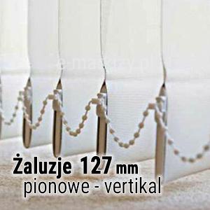 Żaluzje pionowe vertikal 127mm wycena, konfigurator żaluzji pionowych