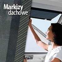 markizy dachowe do okien dachowych
