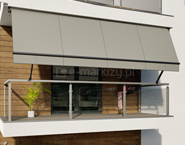 Markizy balkonowe wycena, markizy balkonowe na wymiar, markiza na balkon