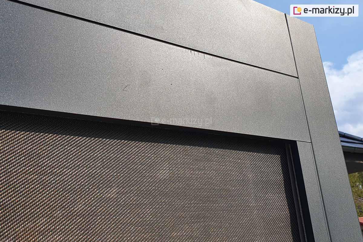 Nowoczesna pergola aluminiowa, pergola aluminiowa luxury