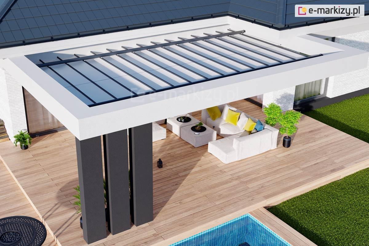 Dach pergoli do konstrukcji własnej costa, zadaszenie konstrukcji własnej