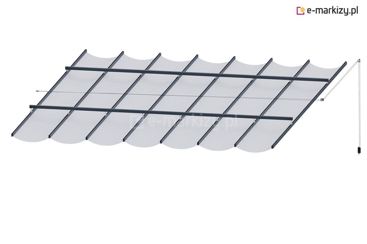 Dach pergolowy costa na wymiar, dach do pergoli tarasowej