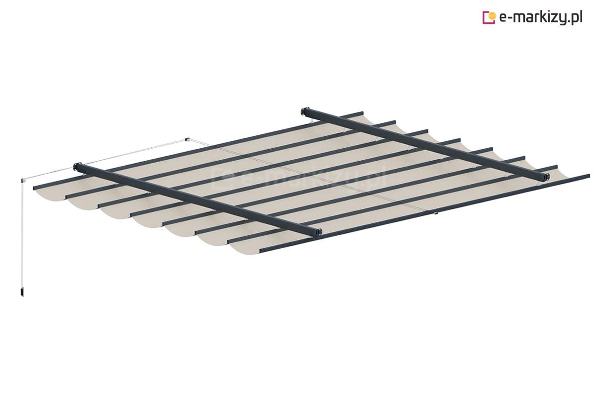 Dach tkaninowy międzyścienny costa, dachy tkaninowe na wymiar, wycena dachu nad taras